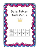 Data Tables Task Cards