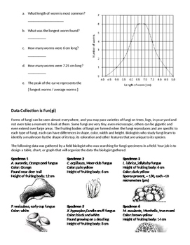 Data Tables and Graphing