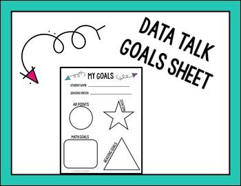 Data Talk Goals Sheet