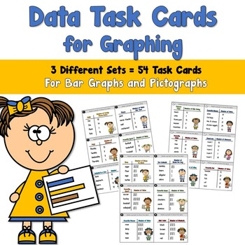 Data Task Cards for Graphing