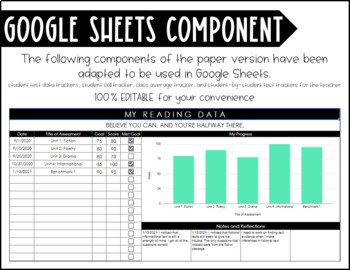 Data Tracking Pages and Posters - Student Data Folder - Brick Wall Data