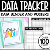 Data Tracker Pages and Posters - Student Data Folder - Editable Data Binder