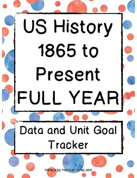 Data Tracker - US History from 1865 to the Present