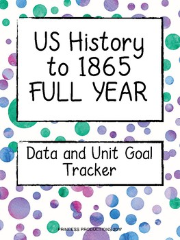 Data Tracker - US History to 1865