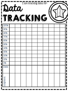 Data Tracker and Folder Cover