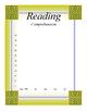 EDITABLE!!!! Data Tracker for Math and Reading. Marzano Ev