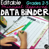 Editable Student Data Tracking Binder Grades 2-5