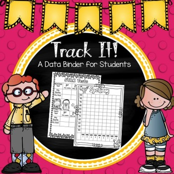 Data Tracking Binder for Students {Editable}