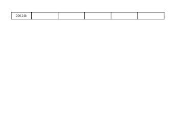 Data Tracking (EDITABLE)