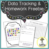 Speech Therapy Data Tracking Freebie