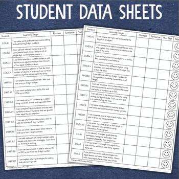 Data Tracking Grade 2 Math