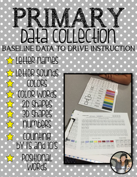 Data Tracking {Primary Collection}