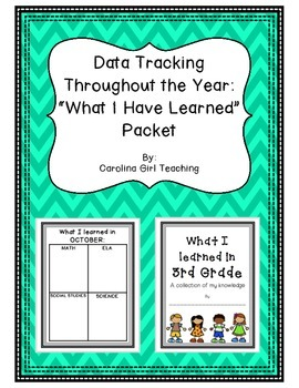 Data Tracking: What Students are Learning