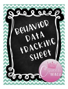 Data Tracking for Behavior