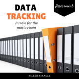 Data-Tracking in the Music Room {K-5 Bundled Set}