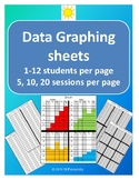 Data Graphing % sheets