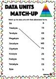 Data Unit Match-Up *FREE!*