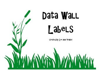 Data Wall Labels