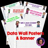 Data Wall Posters Aligned to Kindergarten Florida Standard