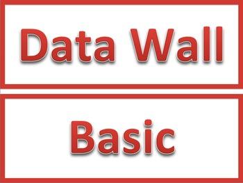 Data Wall - Sports Jersey Theme  EDITABLE