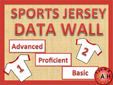 Data Wall - Sports Jersey Theme  EDITABLE