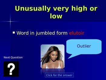 Data Word Jumble