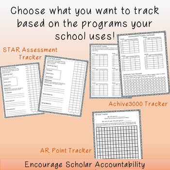 Data (and Goal) Tracking Booklet