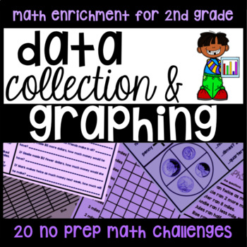 Data and Graphing - 20 Challenge NO PREP Printables