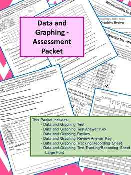 Data and Graphing Assessment Packet