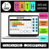 Data and Graphing Digital Practice Google Classroom™ and Seesaw™