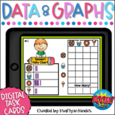 Data and Graphing Distance Learning   Boom Cards