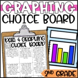 Data and Graphing Enrichment Activities - Math Menu, Choice Board