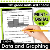 Data and Graphing | First Grade Math 1.MD.4