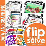 Data and Graphing - Flip and Solve Books