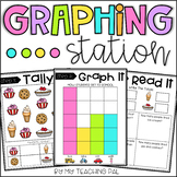 Data and Graphing Math Station