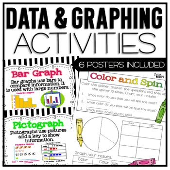 Data and Graphing Mini Unit by Ginger Snaps | Teachers Pay ...