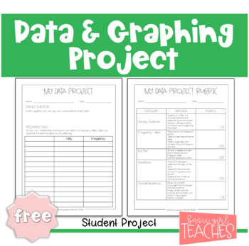 Data and Graphing Project Freebie