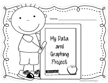 Data and Graphing Project for Primary Grades