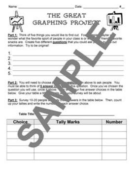 Data and Graphing Unit from Teacher's Clubhouse