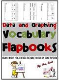 Data and Graphing Vocabulary Flapbooks