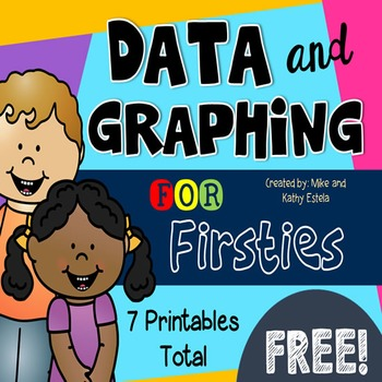 Data and Graphing for First Grade by ChiliMath | TpT