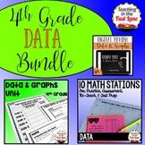 Data and Graphs Bundle 4th Grade