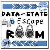 6th Grade Math Escape Room - Data and Statistics