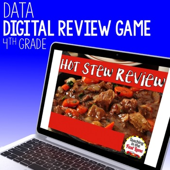 Data and Graphs Review Game - Hot Stew Review
