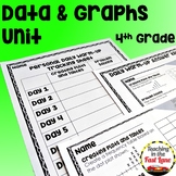 Data and Graphs Unit with Lesson Plans