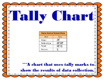 Data and Graphs Vocabulary My Math 3rd Grade