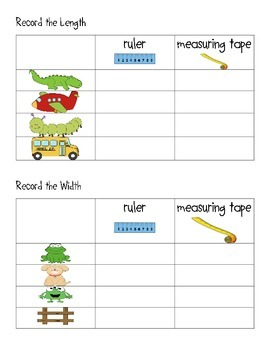 Data and Measurement Cards