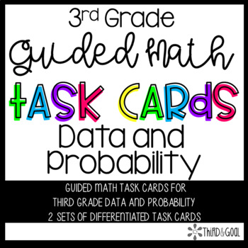 Data and Probability Guided Math Task Cards