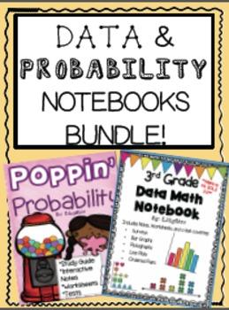 Data and Probability Math Notebooks BUNDLE!!