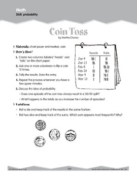 Data and Probability (Ten-Minute Activities)